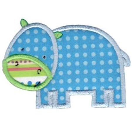 Applique Hippo