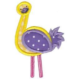 Applique Ostrich