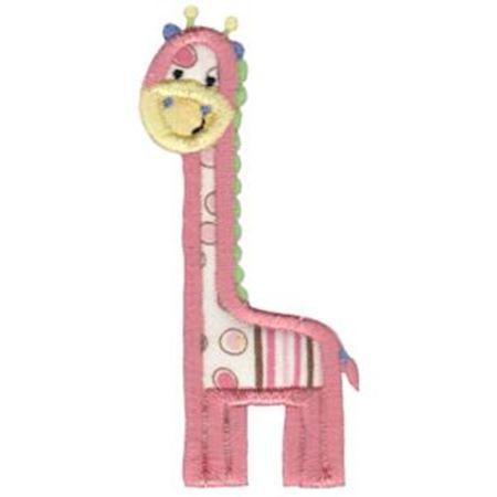 Applique Giraffe