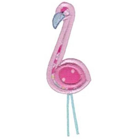 Applique Flamingo