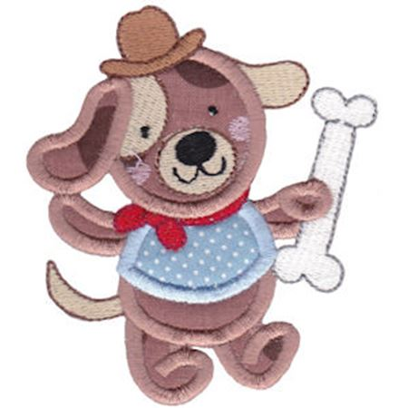 Animal Friends Applique 10