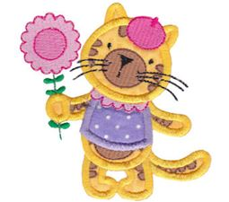 Animal Friends Applique 9