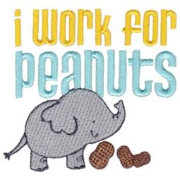 I Work For Peanuts