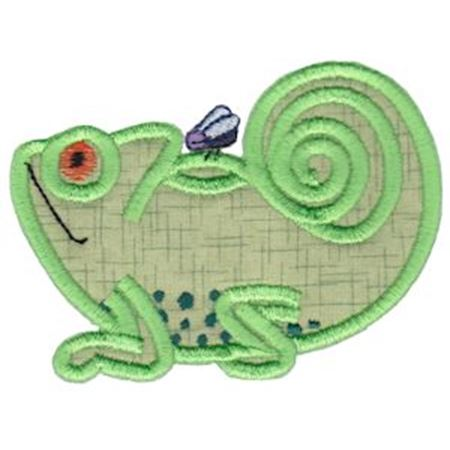 Chameleon Teapot Applique