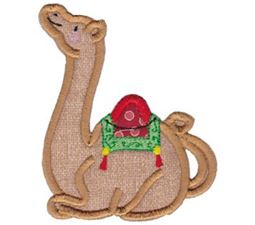 Camel Teapot Applique