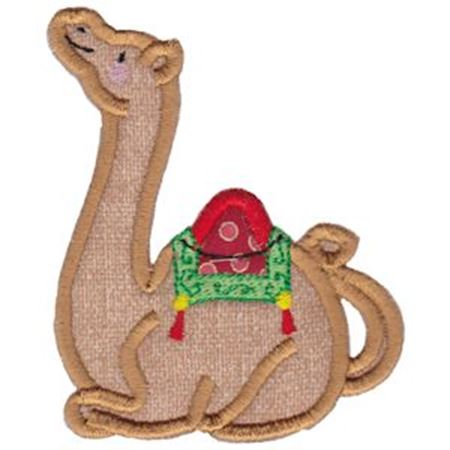 Camel Teapot Applique