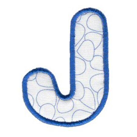 Applique Alphabet 10