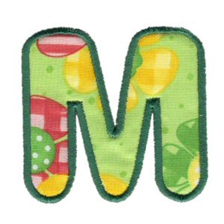 Applique Alphabet 13