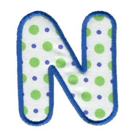 Applique Alphabet 14