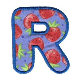 Applique Alphabet 18