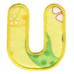 Applique Alphabet 21