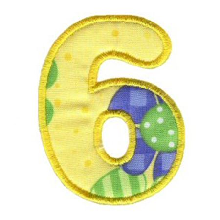 Applique Alphabet 33