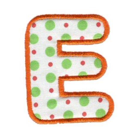 Applique Alphabet 5