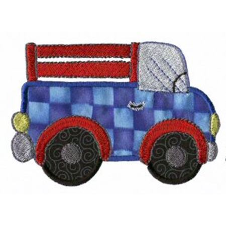 Applique Boys Toys 9