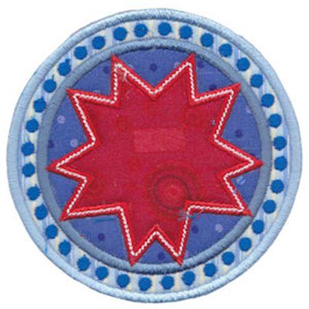 Applique Circle Frames 1