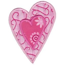 Applique Hearts 12
