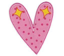 Applique Hearts 13
