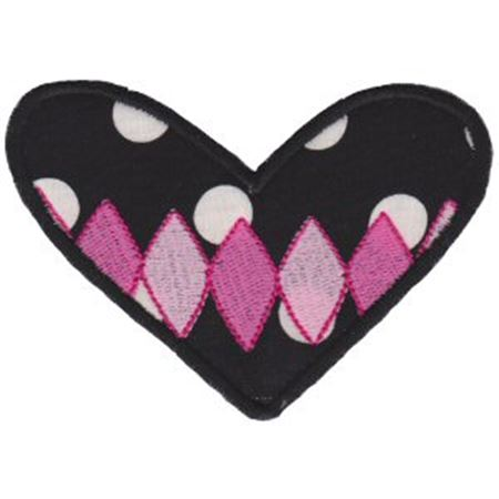 Applique Hearts 16