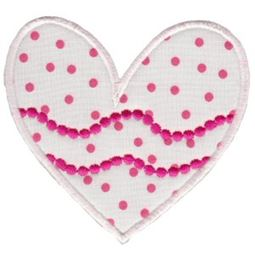 Applique Hearts 17