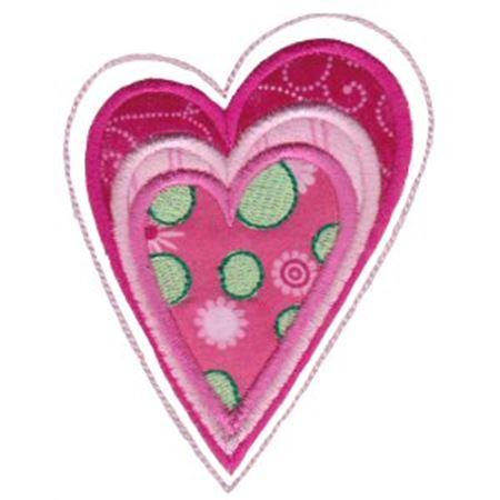 Applique Hearts 2