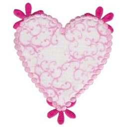 Applique Hearts 24