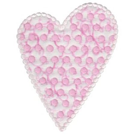 Applique Hearts 7