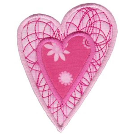 Applique Hearts 9