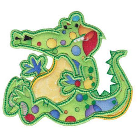 Applique Crocodile