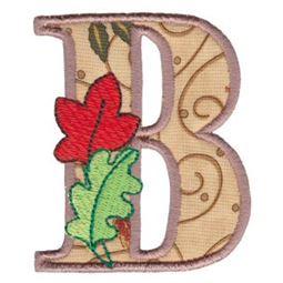 Autumn Alphabet B