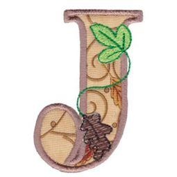 Autumn Alphabet J