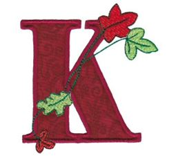 Autumn Alphabet K