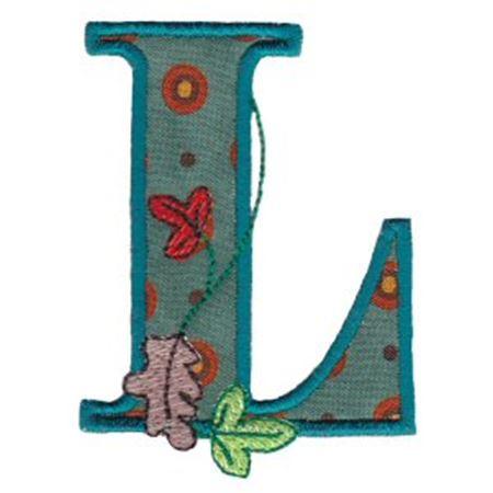 Autumn Alphabet L