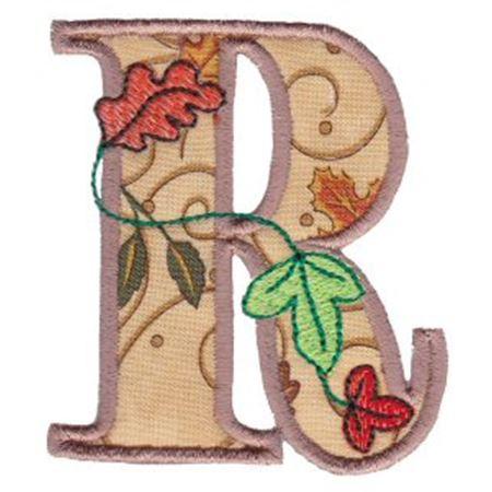 Autumn Alphabet R