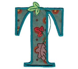 Autumn Alphabet T