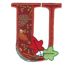 Autumn Alphabet U