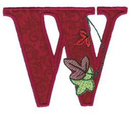 Autumn Alphabet W