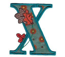 Autumn Alphabet X