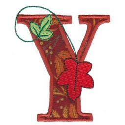 Autumn Alphabet Y