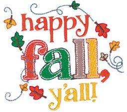 Happy Fall Y