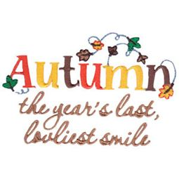 Autumn The Years Last Loveliest Smile