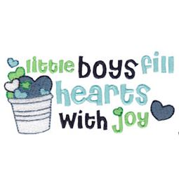 Little Boys Fill Hearts With Joy