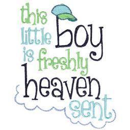 This Little Boy Is Freshly Heaven Sent