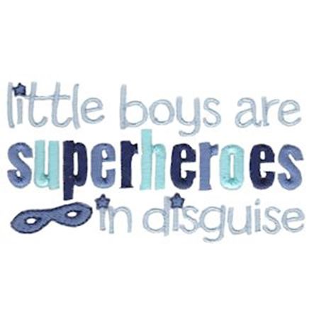 Little Boys Are Superheroes In Disguise