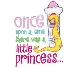 Once Upon A Time There Was A Little Princess