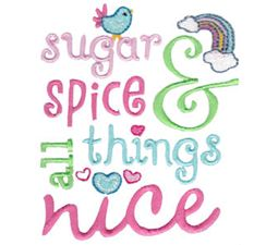 Sugar And Spice And All Things Nice