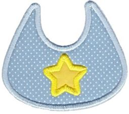 Applique Bib