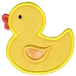 Applique Rubber Duck