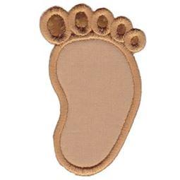 Applique Baby Foot