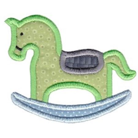 Applique Rocking Horse