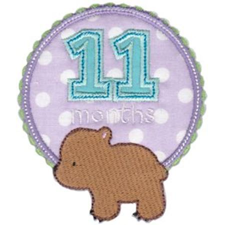 Baby Months Applique 11